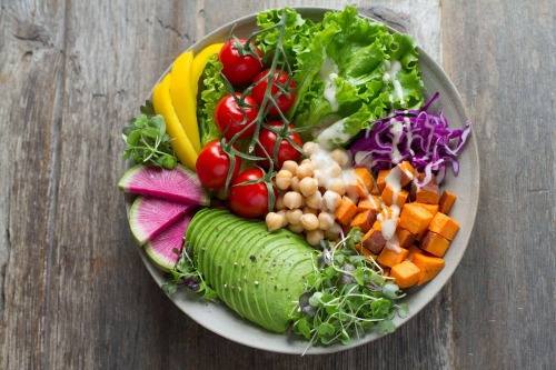salad bowl by namataste nutrition